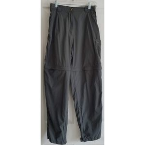 EXOFFICIO Women's Convertible Pants Gray Size 8